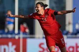 Canadian Soccer Star Sinclair Breaks International Scoring Record [Video]