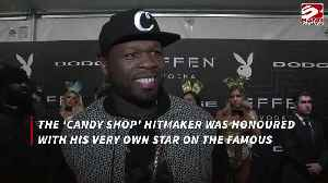 50 Cent inducted to Hollywood Walk of Fame [Video]