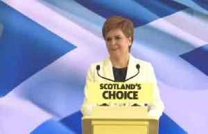 Scotland's Sturgeon: Could test power to call consultative independence vote in court [Video]