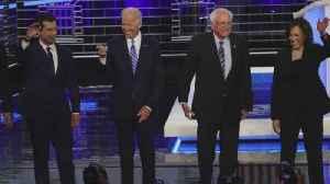 Bernie Sanders Edges Joe Biden for Lead in National Poll Just Before Iowa Caucuses [Video]