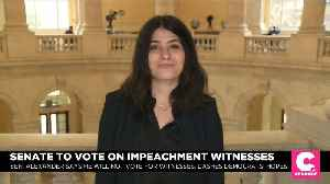 The Bolton Question: Impeachment Debate on Witnesses Begin [Video]