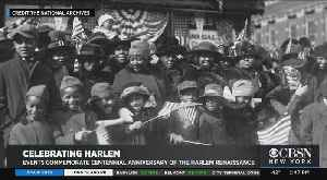 News video: New York Readies To Celebrate Centennial Anniversary Of The Harlem Renaissance