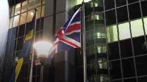 News video: Union flags taken down at European Parliament buildings
