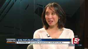 Governor Lee's Heartbeat Abortion Bill p3 [Video]