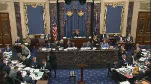 News video: Impeachment Trial: House Managers Make Their Case For Witnesses