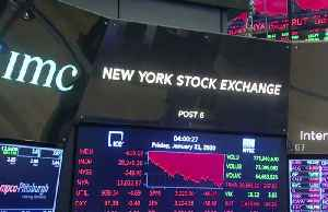 Virus fears, weak data spark 600-pt Dow plunge [Video]