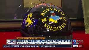 Community honors the oldest living WWII Buffalo Solider [Video]