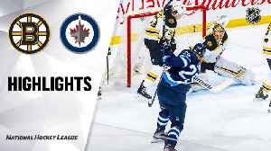 NHL Highlights | Bruins @ Jets 1/31/20 [Video]