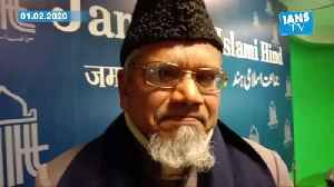 News video: Jama'at-e-Islami Hind Secy Gen welcomes Govt statement on talks with Shaheen Bagh protesters