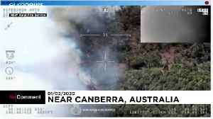 Wildfires threaten villages near the Australian capital Canberra [Video]