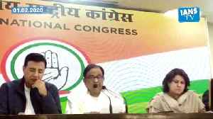 Congress leader and former finance minister P Chidambaram reacts to union budget [Video]