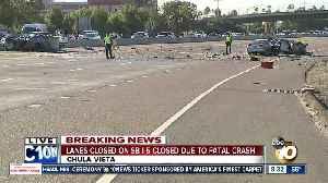 I-5 lanes closed after fatal wrong-way crash in Chula Vista [Video]