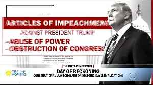 Jonathan Turley being critical of articles of impeachment [Video]