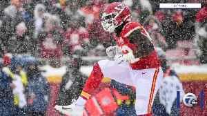 News video: Cheifs LB Demone Harris representing Buffalo in Super Bowl