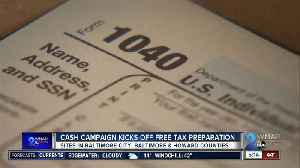 You may be able to get your taxes prepared for free at these locations [Video]