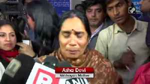 Convicts lawyer challenged me that convicts will never be executed Nirbhaya mother [Video]