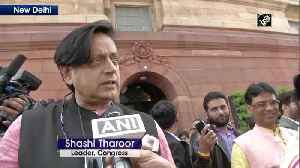 Jamia shooting Govt responsible for creating climate of hatred says Shashi Tharoor [Video]