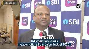 SBI Chairman expects Union Budget to revive economic growth [Video]