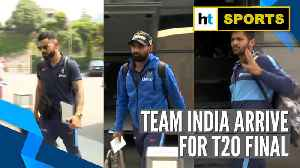 India vs New Zealand | Men in Blue arrive for final T20I clash with the Kiwis [Video]