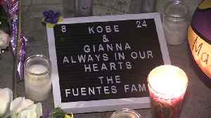 Los Angeles Lakers fans gather to remember Kobe Bryant [Video]