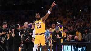 LeBron Celebrates Kobe In Emotional Tribute [Video]