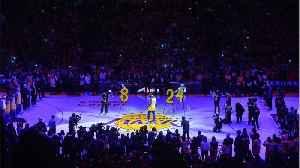 News video: Wiz Khalifa, Charlie Puth Sing 'See You Again' In Tribute To Kobe Bryant