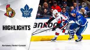 NHL Highlights | Senators @ Maple Leafs 2/01/20 [Video]