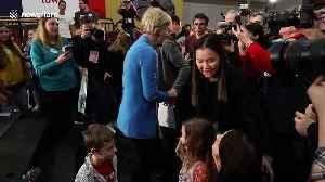 Democrat hopefuls Warren and Biden hold rallies in Iowa ahead of key vote [Video]