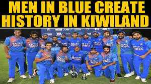 India vs New Zealand: Virat Kohli & Co complete T20I clean sweep in NZ | Oneindia News [Video]