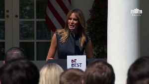 Melania Trump Criticized For Claim About Life Expectancy Increase 'By 4 Years' [Video]