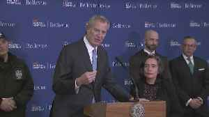 Mayor Bill De Blasio, Health Officials Discuss NYC's First Possible Coronavirus Case [Video]