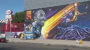 New Kobe Bryant Memorial Encompasses His Achievements On And Off The Court [Video]