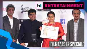 'Was introduced to hubby Siddharth Roy Kapur after first Filmfare win': Vidya Balan [Video]