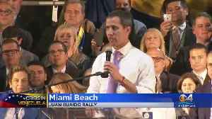 Juan Guaidó Rallies Venezuelan Expats In Miami [Video]