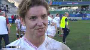 News video: Hunter: England relished the atmosphere