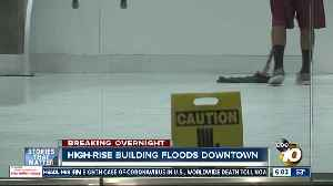 High-rise building floods in downtown San Diego [Video]