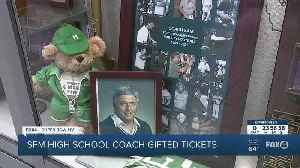 News video: Coach Sam Sirianni of Fort Myers High School head to the Super Bowl