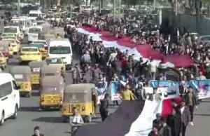 News video: Iraqi protesters reject new PM in marches across the country