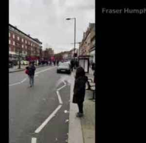 News video: Police shoot dead man after London stabbing