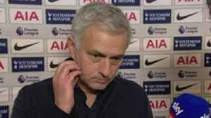 Mourinho praises Spurs' discipline [Video]