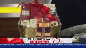 News video: Valentine's Day Gifts For Guys