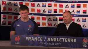 Eddie Jones: England's Six Nations defeat to France 'not a World Cup hangover' [Video]