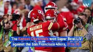 News video: Kansas City Chiefs Defeat the San Francisco 49ers in Super Bowl LIV