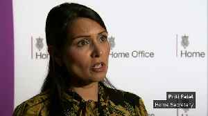 Priti Patel: 'Our thoughts are with the victims' [Video]