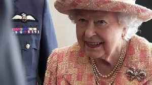 Queen gets a look at UK's fighter jets on royal visit [Video]