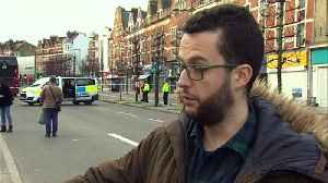 Eyewitness recounts seeing the Streatham attack unfold