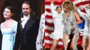 Jennifer Lopez & Shakira's Super Bowl Performance, Disney+ Marvel Shows & 'Hamilton' Headed to Big Screen | THR News [Video]
