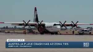 Fatal air tanker crash while battling wildfires in Australia had Arizona ties [Video]