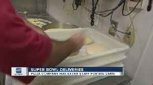 Local delivery businesses prepare for the Super Bowl rush [Video]