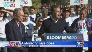 News video: Bloomberg Starts 2-Day California Campaign Tour Ahead Of Iowa Caucuses